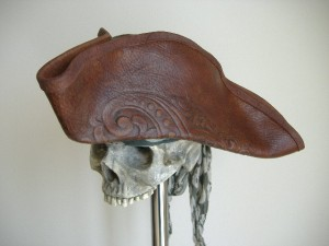 Leather Pirate Hat Photo