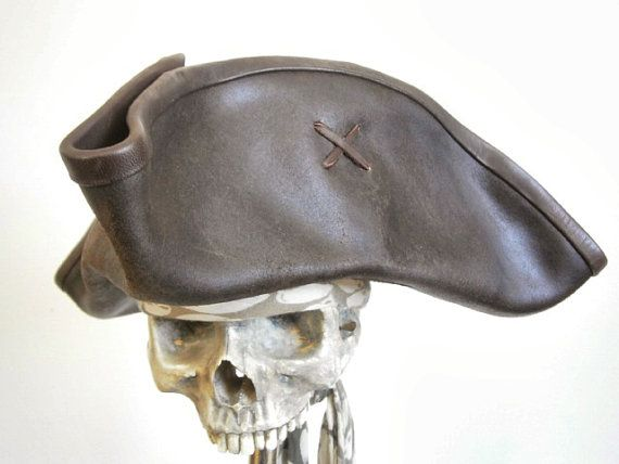 Leather Pirate Hats Tag Hats