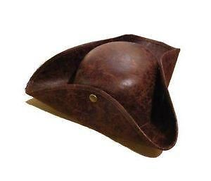 Leather Pirate Hat