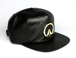 Leather Strapback Hat