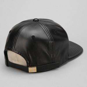 Leather Strapback Hats