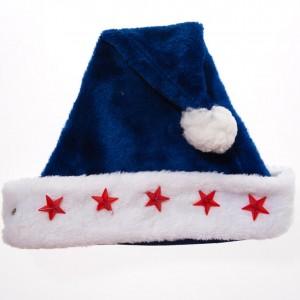 Light Blue Santa Hat