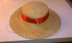 Luffy Straw Hat with String