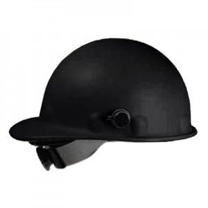 Matte Black Hard Hat