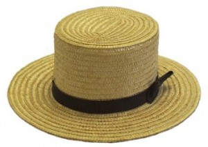 Mens Amish Straw Hats
