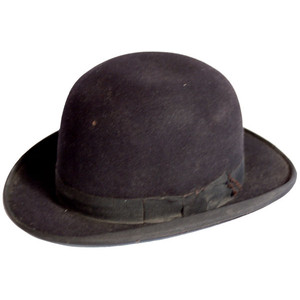 Mens Bowler Hat Photos