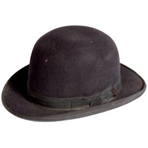 Mens Bowler Hat Photos