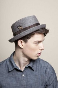 Mens Pork Pie Hat