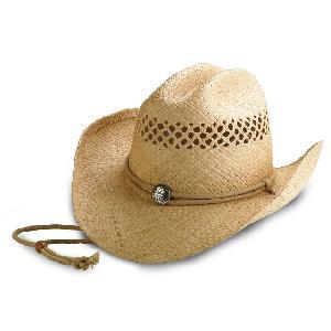 Mens Straw Cowboy Hat