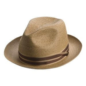 Mens Straw Fedora Hats