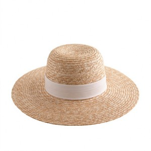 Mens Wide Brim Straw Hat