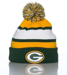 Packers Winter Hat Pom