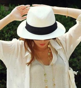 Panama Straw Hat Women