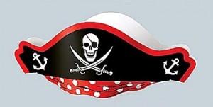 Paper Pirate Hat Pattern