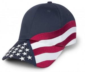 Patriotic Baseball Hats