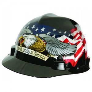 Patriotic Hard Hats
