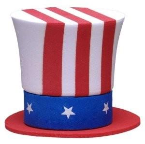 Patriotic Hats Tag Hats
