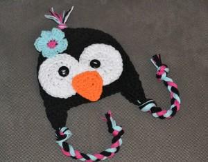 Penguin Crochet Hat