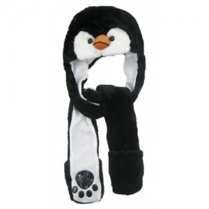 Penguin Hat with Paws