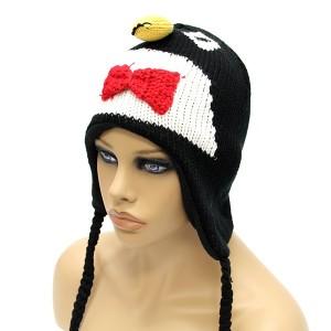 Penguin Knit Hat