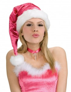 Pink Santa Hat Photos