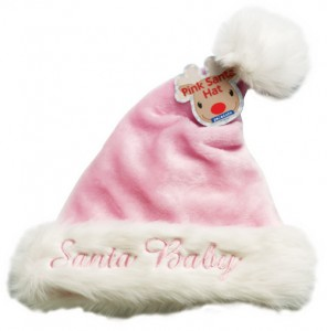 Pink Santa Hat for Baby