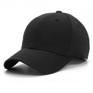 Plain Black Baseball Hat
