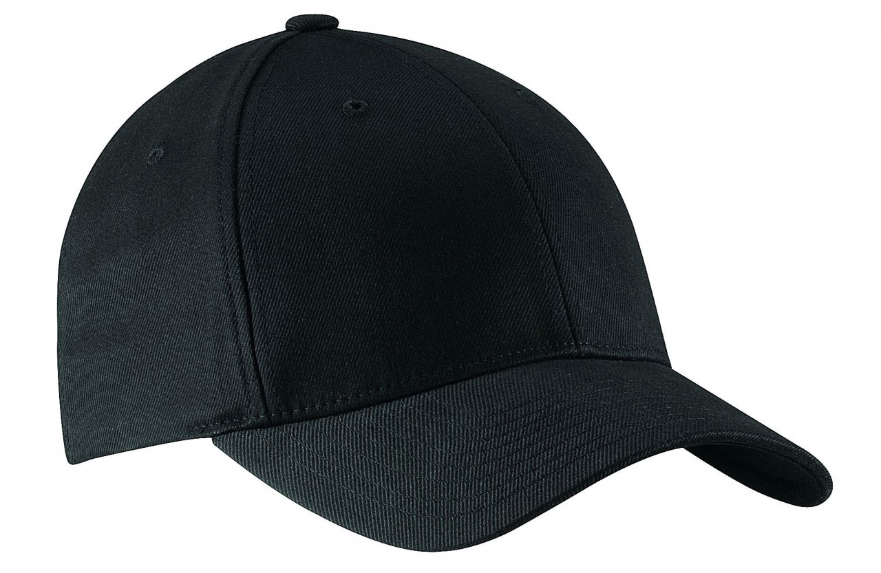 Blank black baseball hat