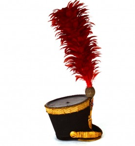 Plumed Military Hats