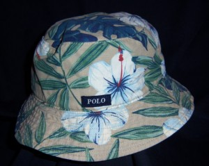 Polo Floral Bucket Hat