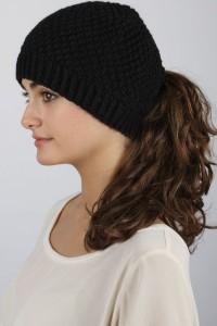 Ponytail Winter Hat