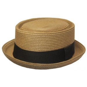 Pork Pie Hat Straw