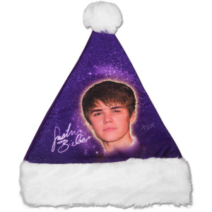 Purple Santa Hat Photos