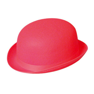 Red Bowler Hat Images