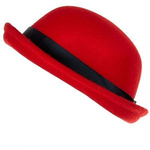 Red Bowler Hat Photos