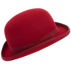 Red Bowler Hat Pictures