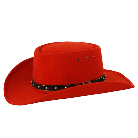Red Cowboy Hats Tag Hats Personalize yours with buckles, beads, feathers or the distinct way. tag hats