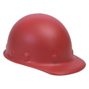 Red Fiberglass Hard Hat