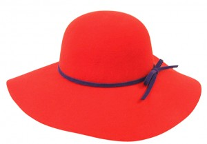 Red Floppy Hat Photo