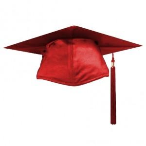 Red Graduation Hat