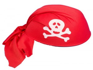 Red Pirate Hat
