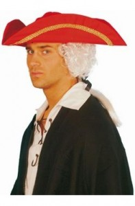 Red Pirate Hat Image