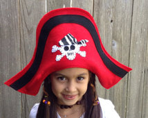 Red Pirate Hat Photo