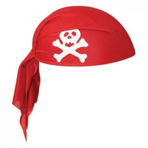 Red Pirate Hats