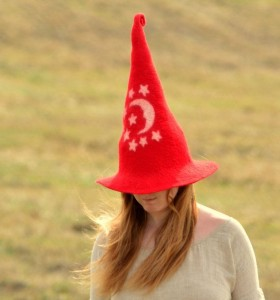 Red Wizard Hat