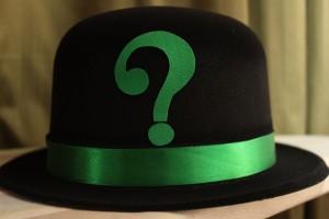 Riddler Black Hat