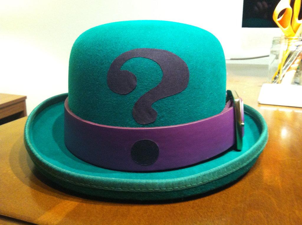riddler hat hats