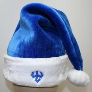 Royal Blue Santa Hats