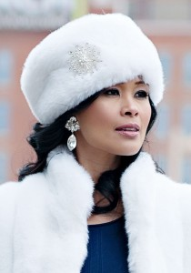 Russian Fur Hat White