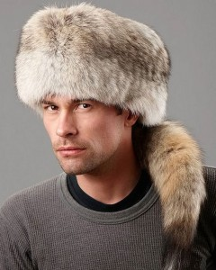 Russian Fur Hat with Tail